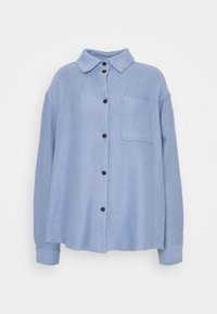 Weekday - OVERSHIRT - Button-down blouse - dove blue - 0