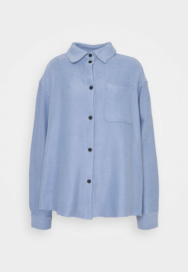 OVERSHIRT - Chemisier - dove blue