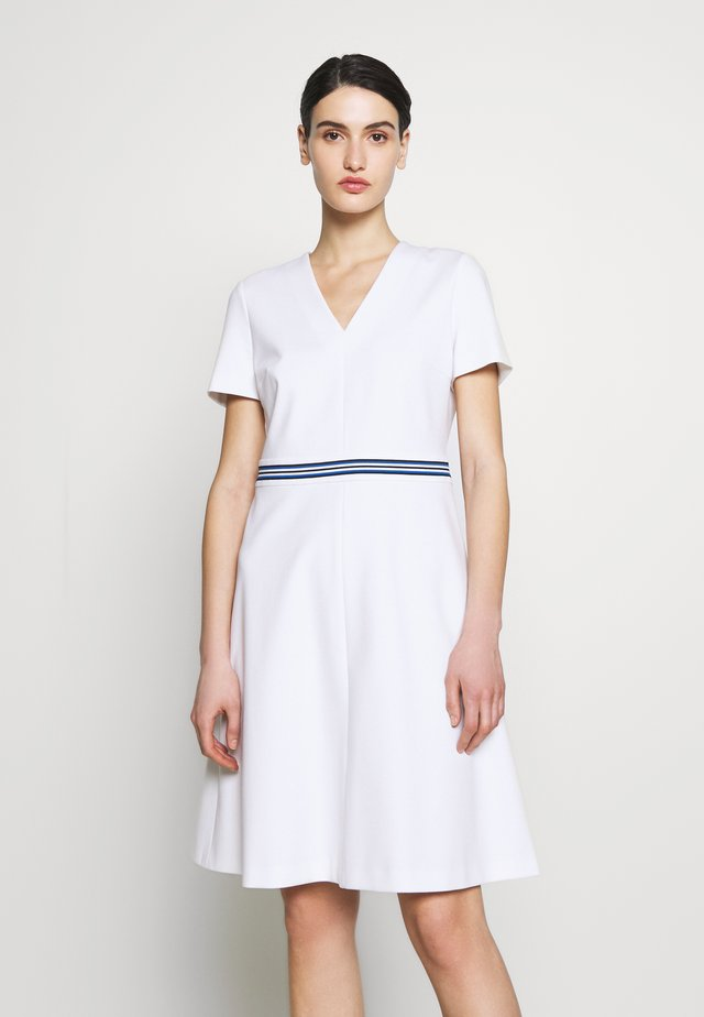 DUKATI - Jersey dress - white
