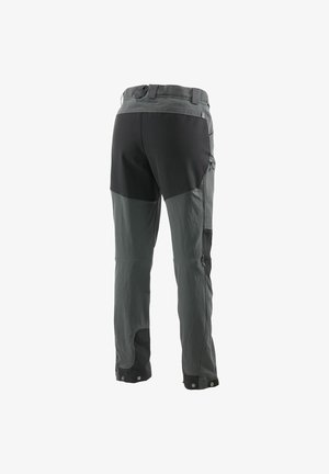 Outdoor trousers - magnetite/true black