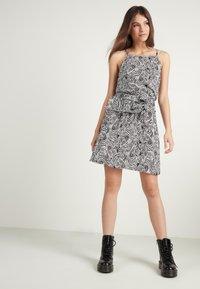 Tezenis - Day dress - bianco st.zebra - 1