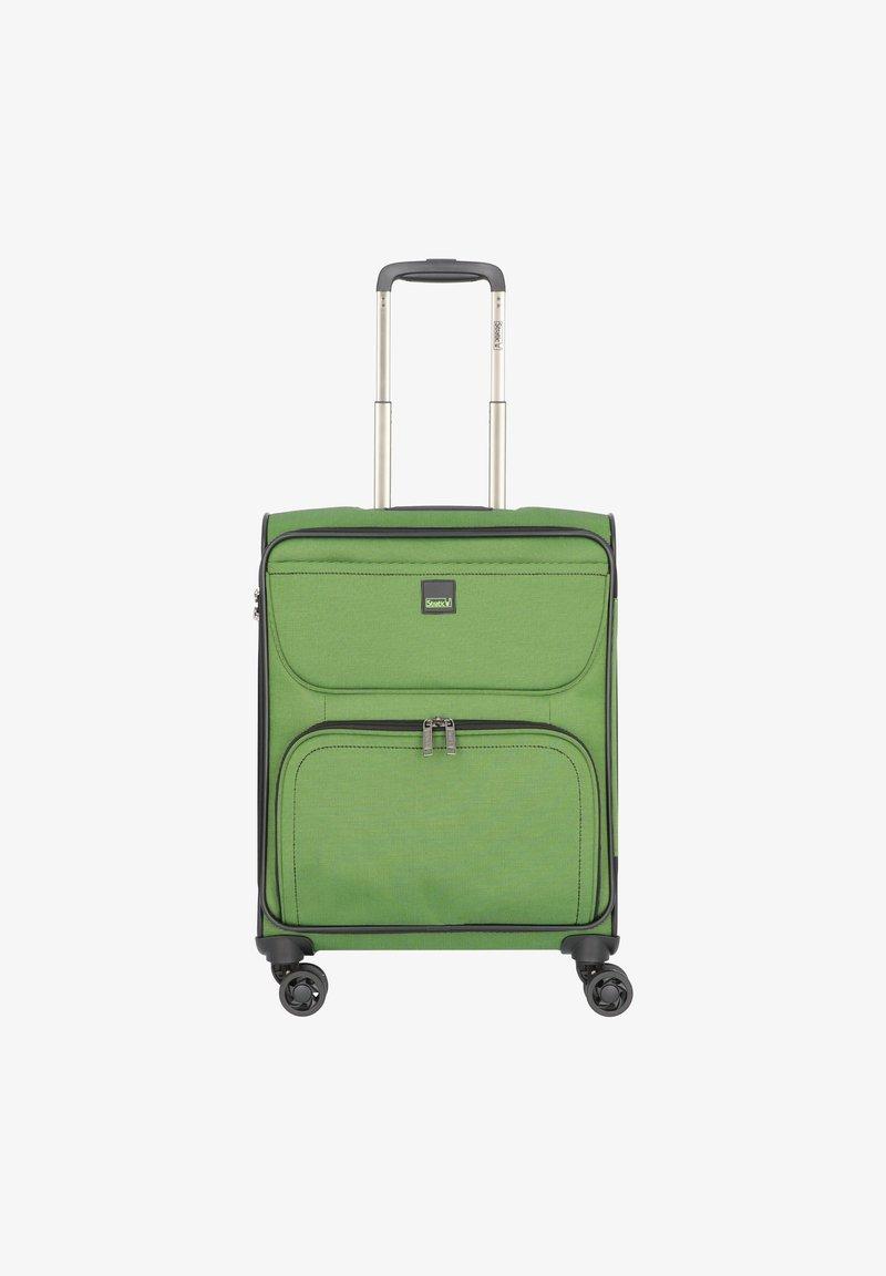 Stratic - BENDINGO LIGHT 4-ROLLEN  - Wheeled suitcase - gruen