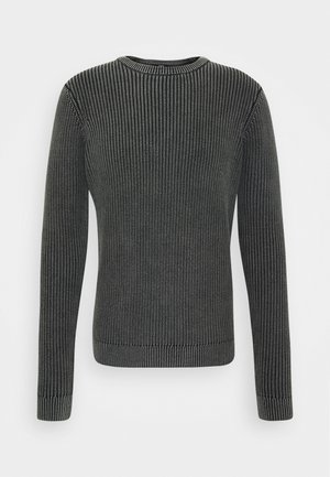 JANNY - Jumper - black