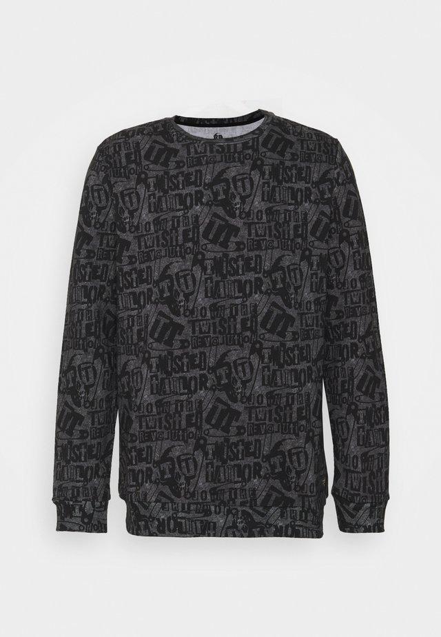 RANSOM - Sweater - black/white