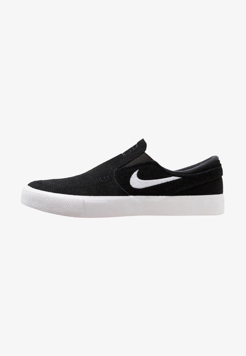 Nike SB - ZOOM JANOSKI - Instappers - black/white