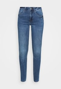 New Look - MIDRISE SUPERSOFT  - Jeans Skinny Fit - mid blue - 4