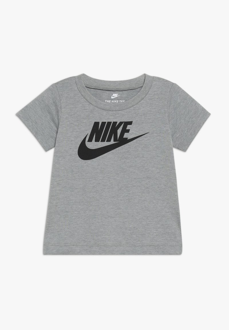 Nike Sportswear - FUTURA TEE BABY - Triko spotiskem - dark grey heather