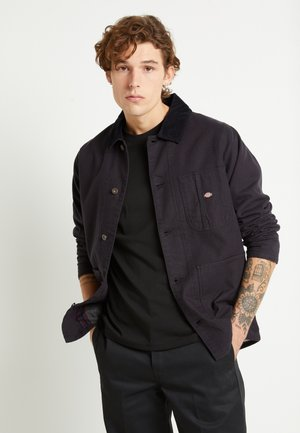 BALTIMORE JACKET - Chaqueta fina - black