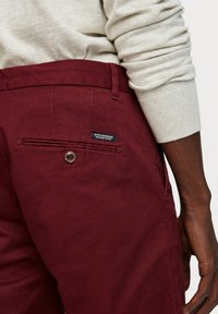 Scotch & Soda - MOTT CLASSIC SLIM FIT - Chino - bordeaux - 4