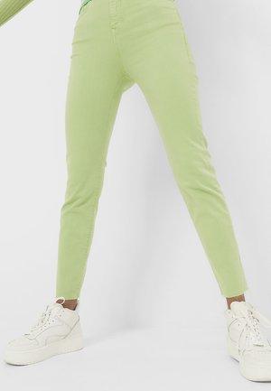 Jeans slim fit - green