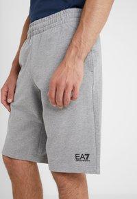 EA7 Emporio Armani - Tracksuit bottoms - light grey melange - 3