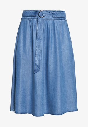 SKIRT - A-line skjørt - denim blue