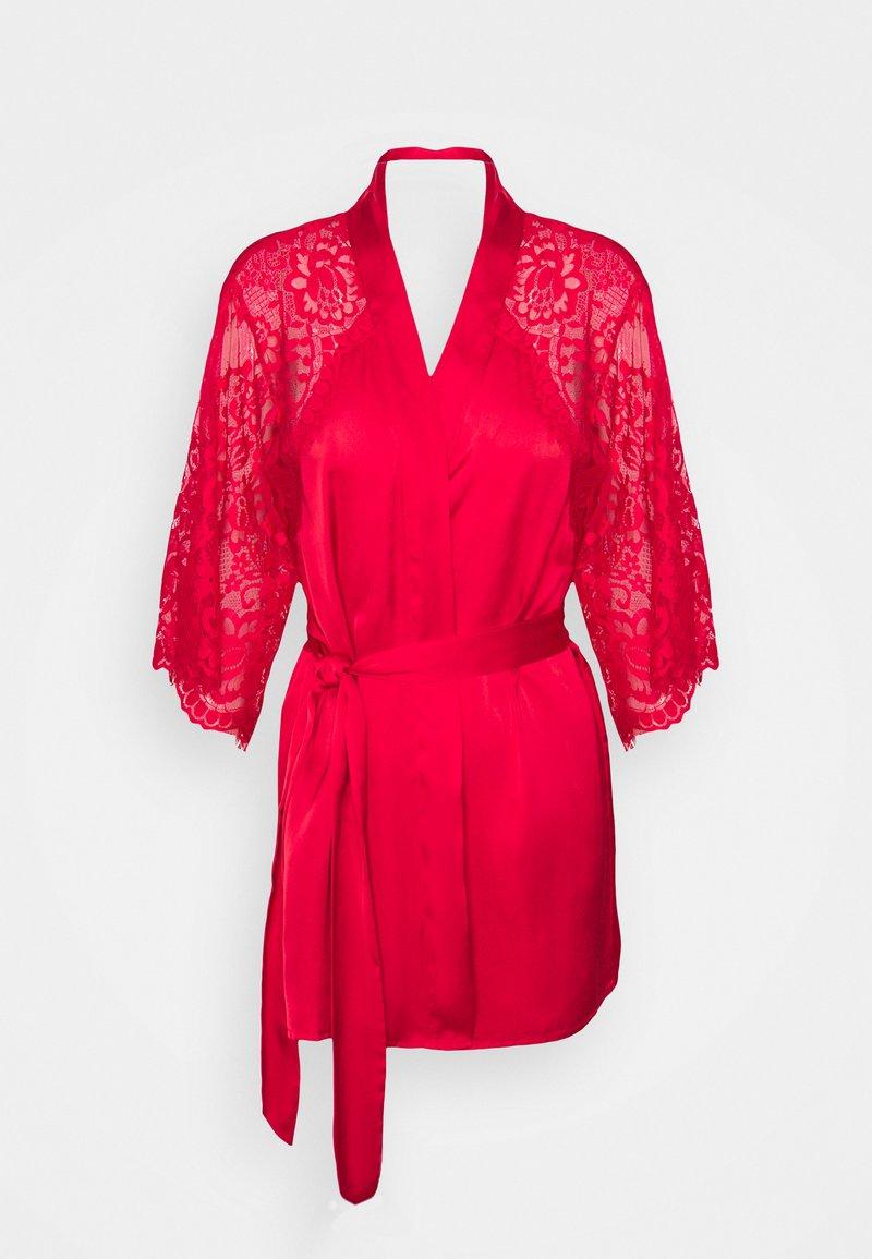 Hunkemöller - KIMONO JENNIFER - Dressing gown - tango red