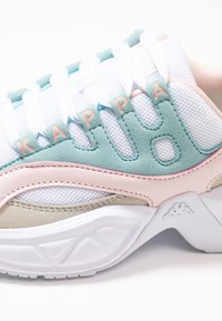 Kappa - OVERTON - Sports shoes - white/mint - 5