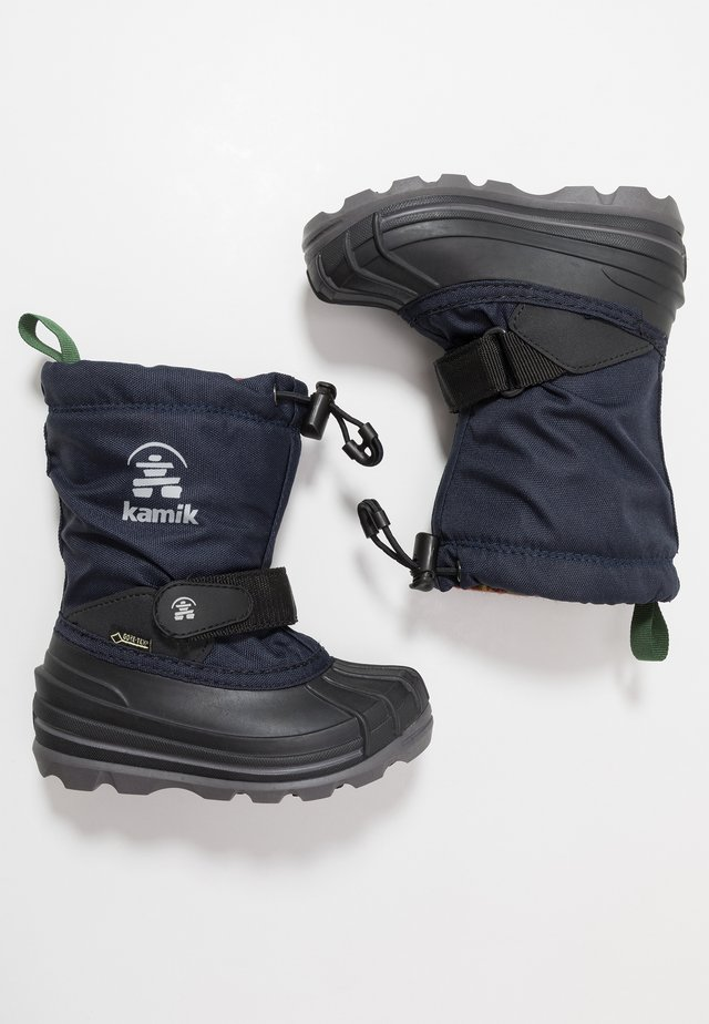 WATERBUG - Winter boots - navy/marine