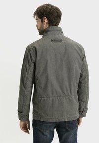 camel active - MIT STEHKRAGEN - Summer jacket - grey - 2