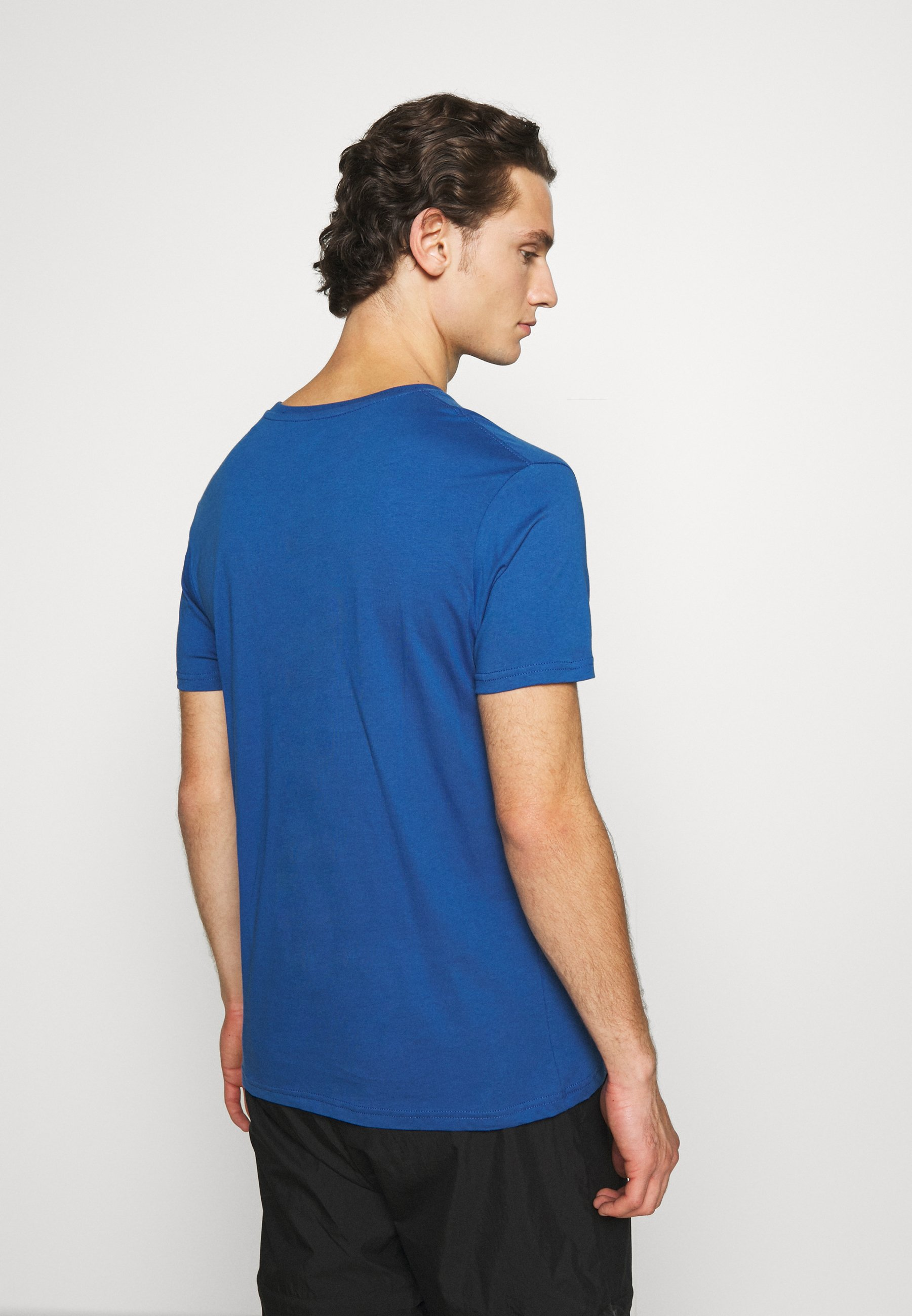 Alpha Industries BASIC - Print T-shirt - nasa blue RuyVc