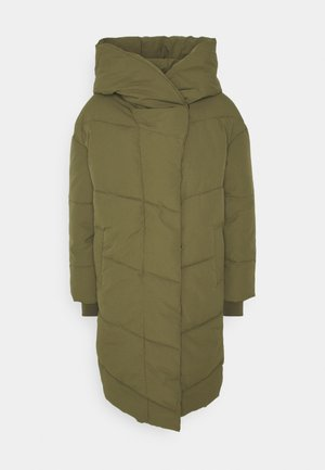 NMTALLY LONG JACKET - Talvitakki - winter moss