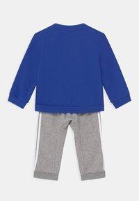 adidas Performance - LOGO SET UNISEX - Chándal - bold blue/medium grey heather/white - 1