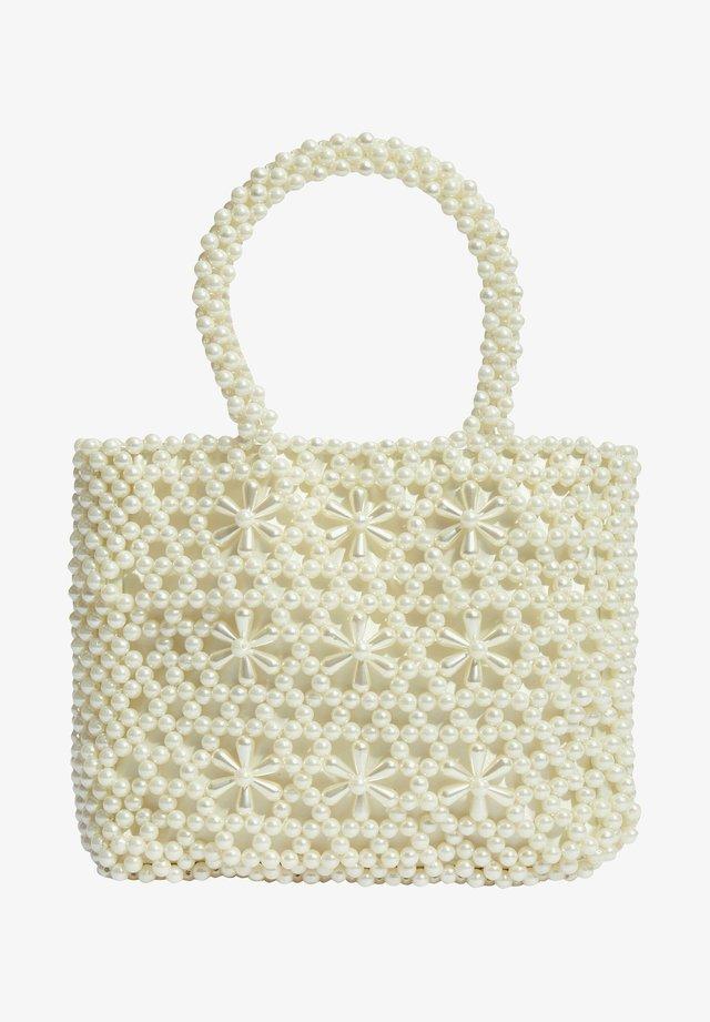 Shopper - white
