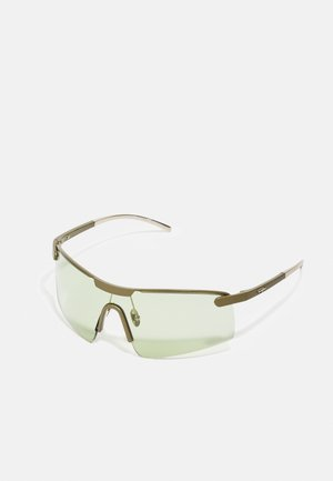 UNISEX - Sunglasses - gold-coloured/khaki