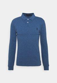 Polo shirt - royal heather