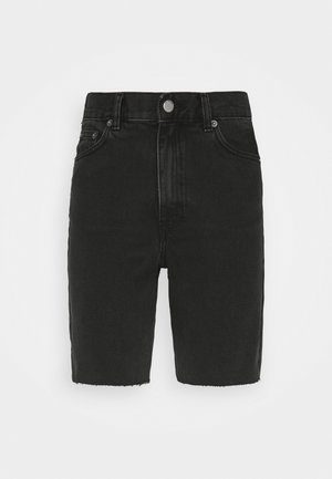 ECHO - Denim shorts - charcoal black