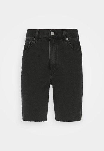 ECHO - Džínové kraťasy - charcoal black