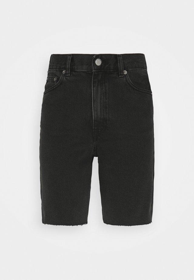 ECHO - Short en jean - charcoal black