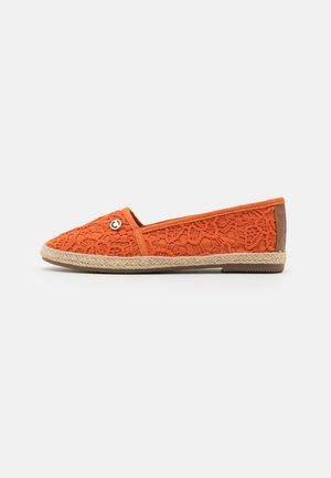 Espadrillas - orange