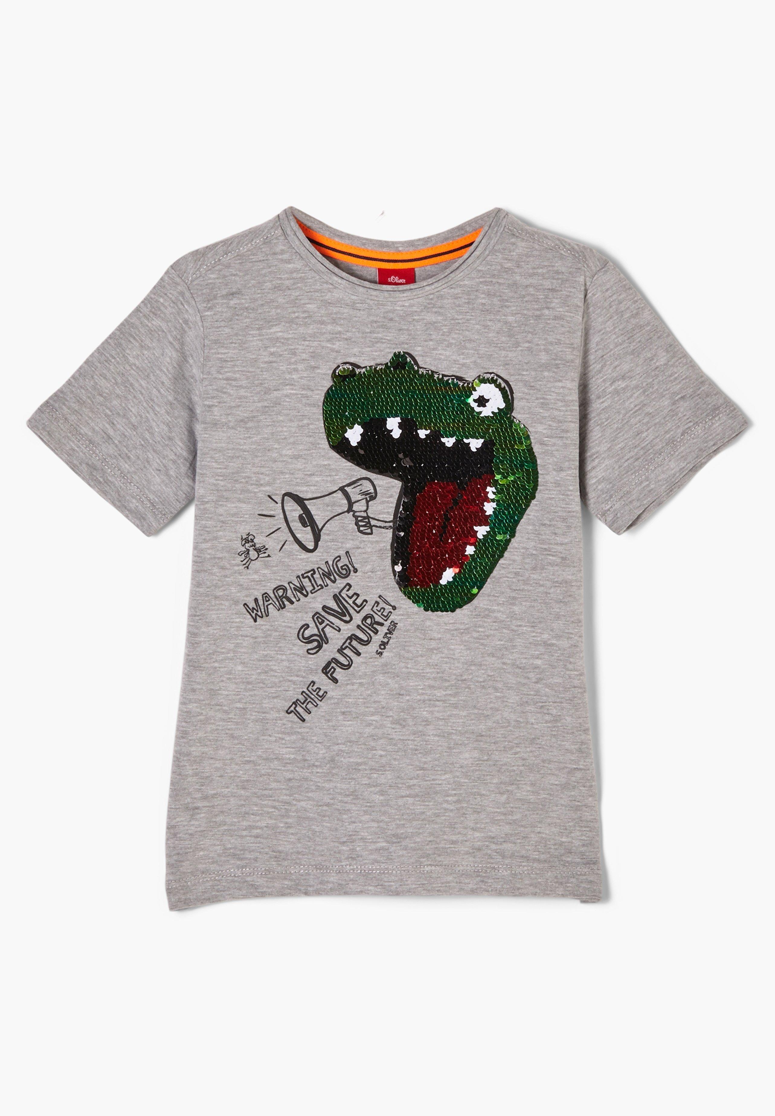 Kinder MIT PAILLETTEN-MOTIV - T-Shirt print