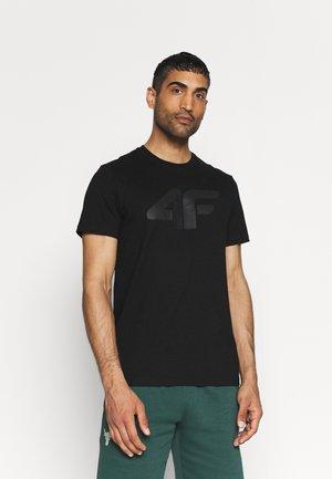 T-shirt print - deep black
