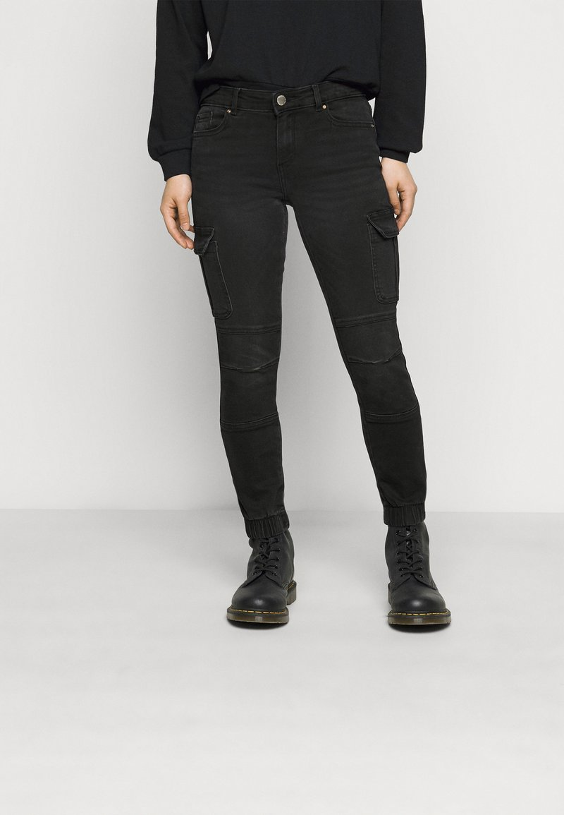 ONLY Petite - ONLMISSOURI LIFE - Jeans Skinny Fit - black denim