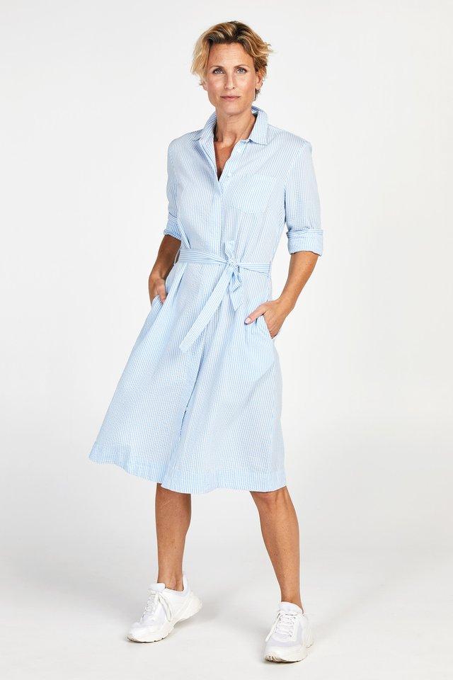 PROMISS APPAREL DRESS DRINY - Shirt dress - bright blue