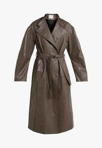 House of Dagmar - ALICIA CHECK - Trenchcoat - camel check - 4