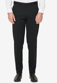 s.Oliver BLACK LABEL - Trousers - black - 0
