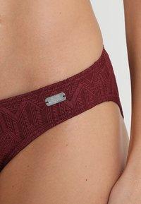 Buffalo - WIRE BANDEAU SET - Bikini - wine red - 4