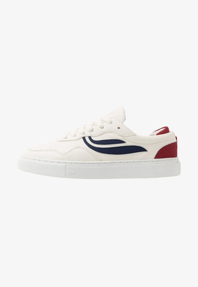 SOLEY UNISEX  - Sneakersy niskie - white/navy/wine