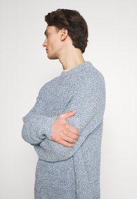 NU-IN - SLOUCHY LIGHTWEIGHT SWEATER - Maglione - blue - 4