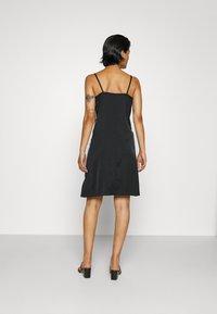 adidas Originals - DRESS - Day dress - black - 3