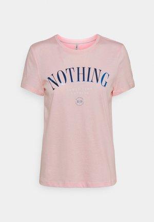 ONLKITA LIFE  - Print T-shirt - ballerina/nothing