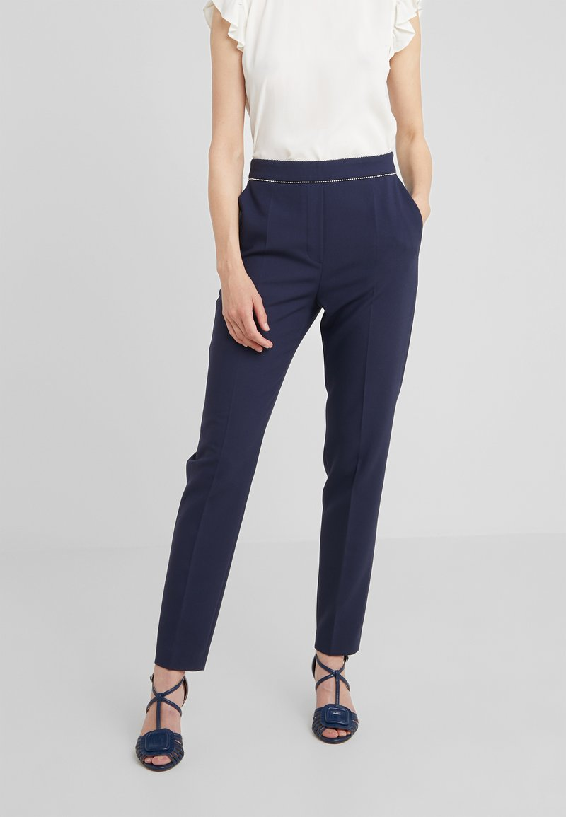 HUGO - HINDIA - Trousers - open blue