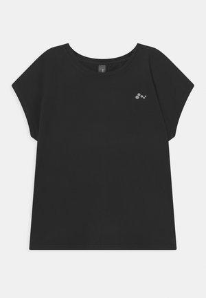 ONPAUBREE LOOSE TRAIN TEE GIRLS - T-shirt con stampa - black