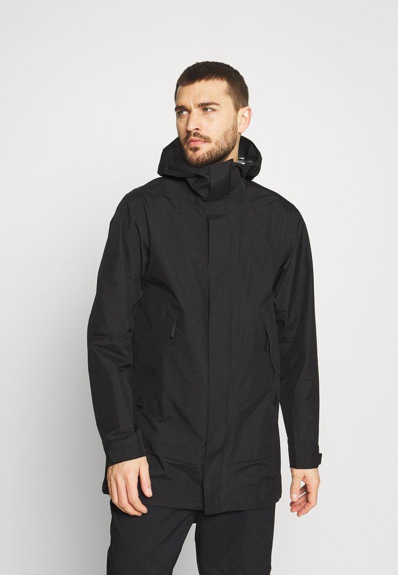 Peak Performance - LIGHT PAC - Hardshell jacket - black
