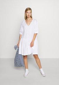 Monki - ROBIN DRESS - Day dress - white light - 1
