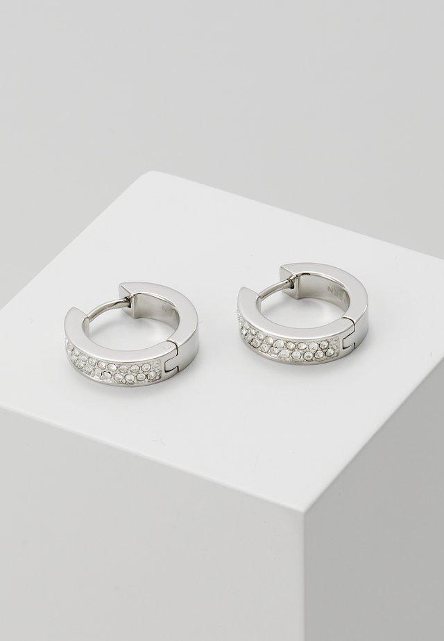 MERETE - Pendientes - silver-coloured