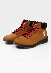 Timberland - WESTFORD - Lace-up ankle boots - rust nubuck - 1