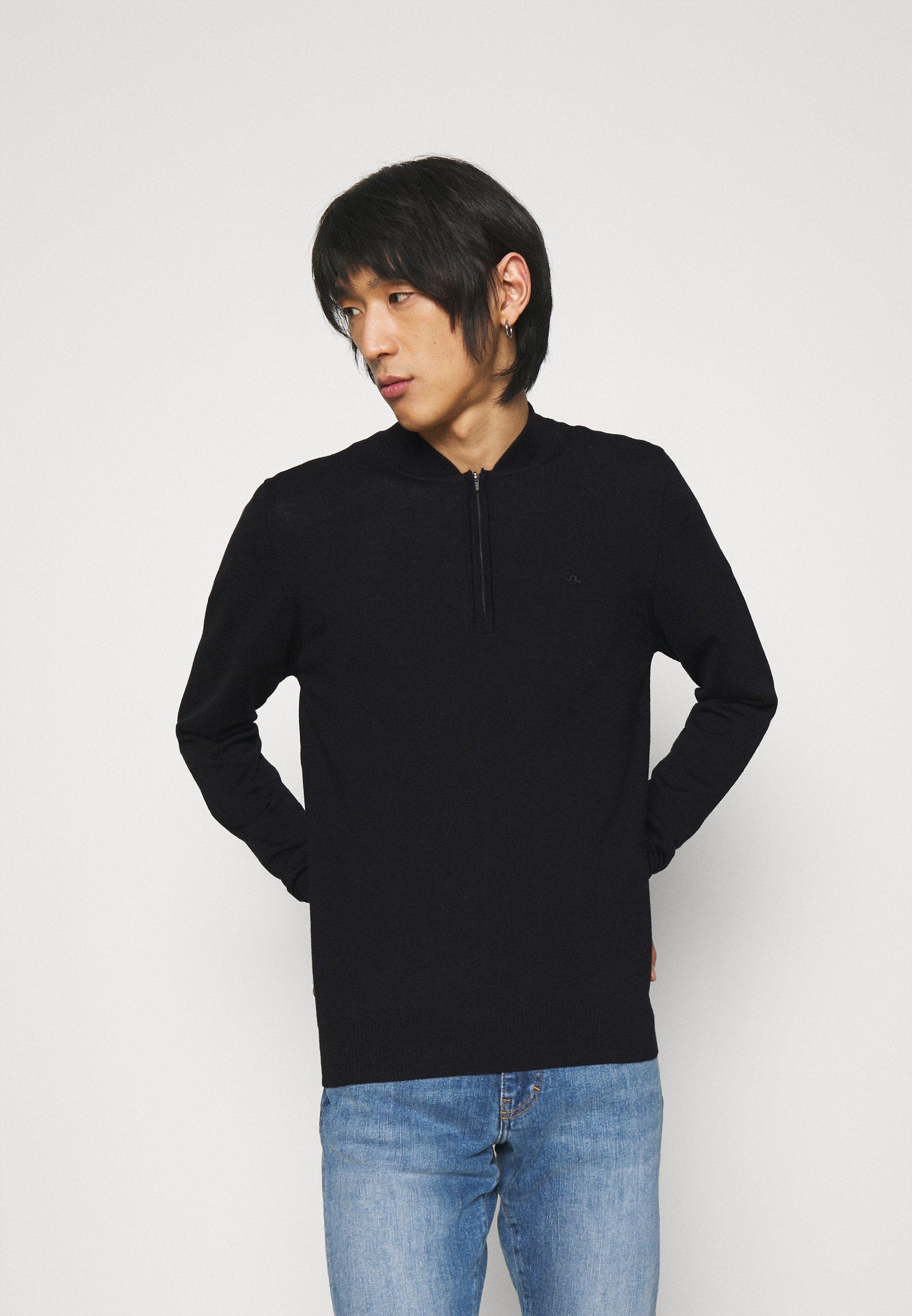 Homme LYNN BASEBALL COLLAR - Pullover
