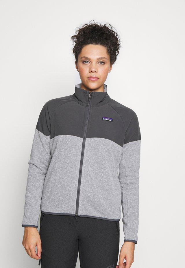 BETTER SWEATER SHELLED - Fleece jacket - feather grey
