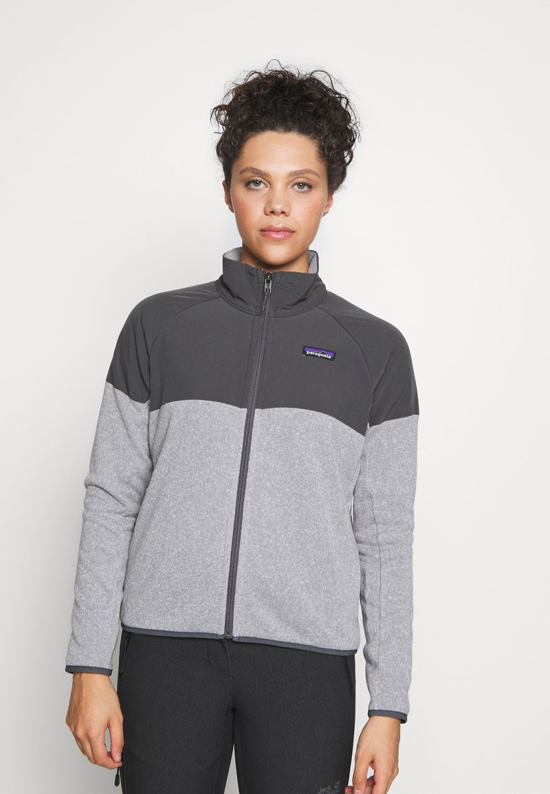 Patagonia - BETTER SWEATER SHELLED - Fleece jacket - feather grey